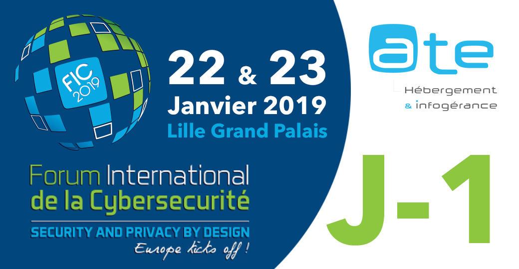 ATE au FIC 2019 (Lille)