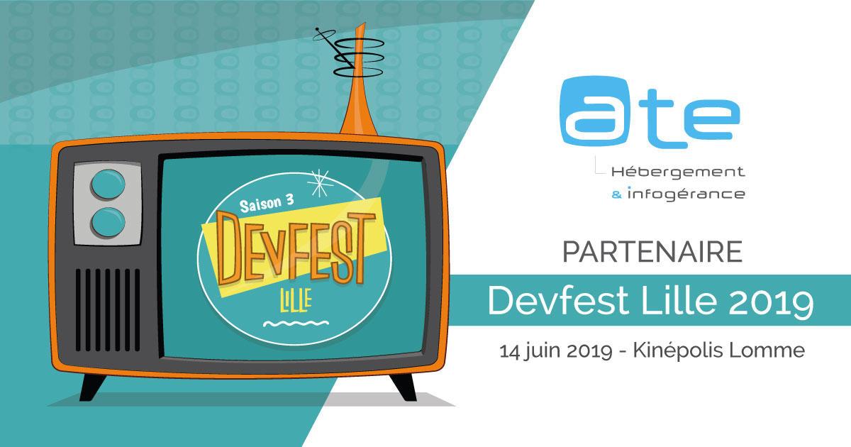 ATE, partenaire du DevFest Lille 2019