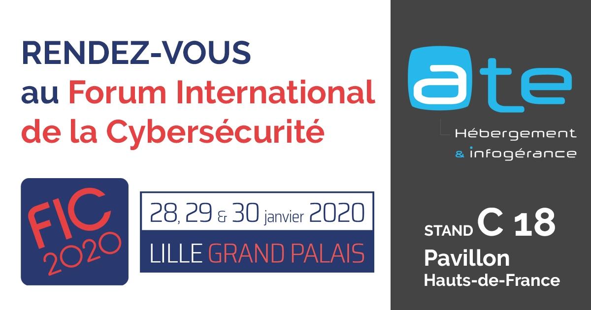 ATE, partenaire du Forum International de la Cybersécurité 2020