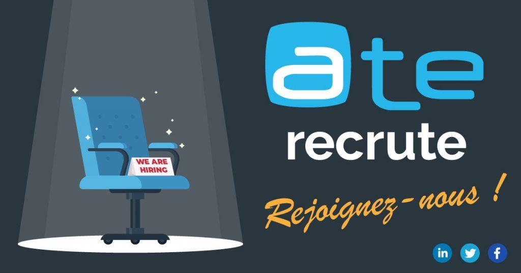 Offre d'emploi informatique hébergement infogérance Cloud Lille Hauts-de-France ATE Avenir Télématique