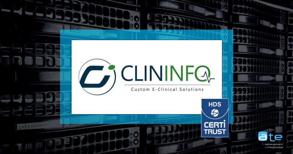 ClinInfo hébergement de données sante HDS