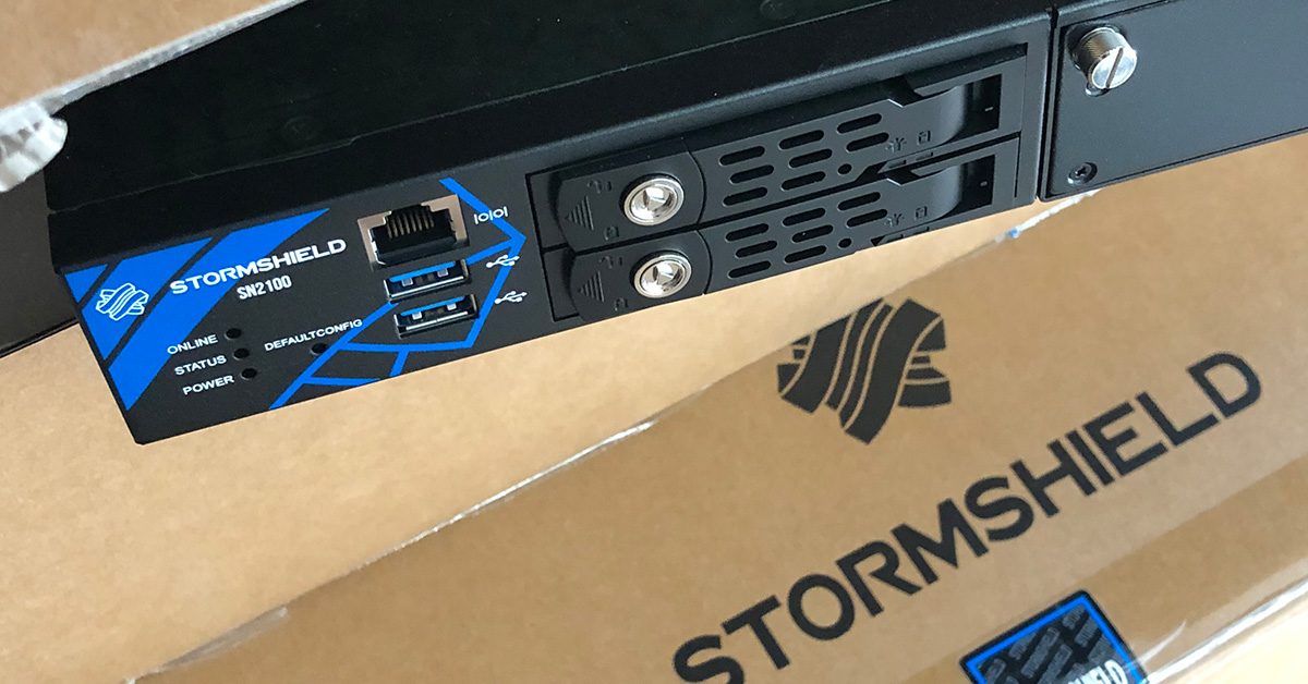 Firewall haute performance Stormshield SN2100