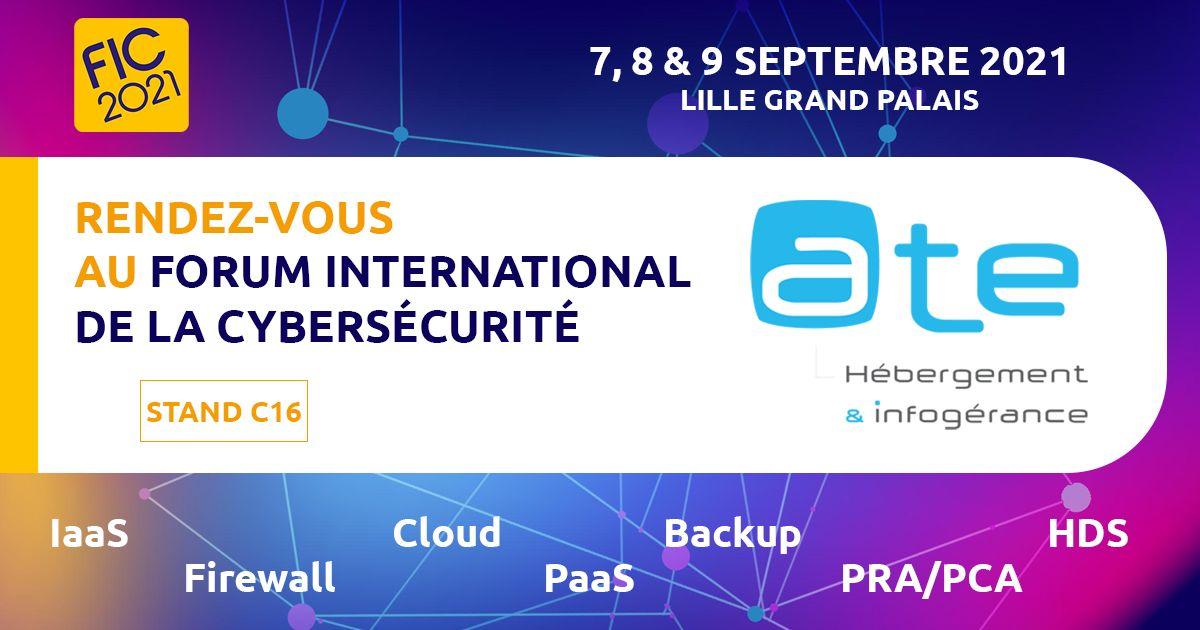 ATE au Forum International de la Cybersécurité 2021